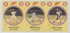 1982 Zellers Baseball Pro Tips Montreal Expos #7 Warren Cromartie Card