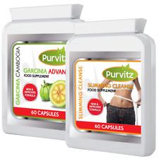 Garcinia Cambogia Pure Clean Detox Colon Max Capsules Weight Loss Diet Capsules