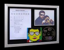 BLACK GRAPE Kellys Heroes LTD CD MUSIC FRAMED DISPLAY!!