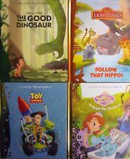 Disney Little Treasures Historia Libro de tapa dura-Toy Story, protector de León, buena Dinosaurio