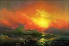 Poster, Many Sizes; Ninth Wave Aivazovsky, Ivan - The Ninth Wave