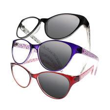 4 Colors Cat Eye Transition Photochromic Progressive Reading Glasses +1.0 ~ +3.0