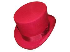100% Laine feutre rouge mariage événement haute qualité Derby