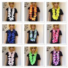 1 PC Lei Hawaiian Party Hula Flower Hawaiian Necklace Leis Costume accessory