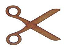 Scissors MDF Laser Cut Craft Blanks in Various Sizes
