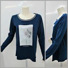 LIU JO SPORT t-shirt donna m/lunga MODA TWIST T65015 J7500 BLUETTE inverno 2017