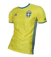 46ea5a6cd Sweden Sverige SVFF Jersey 2016 Adidas Shirt Soccer XS S XL 2XL 3XL