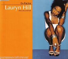 LAURYN HILL - Ex-Factor (UK 3 Track CD Single Part 2)