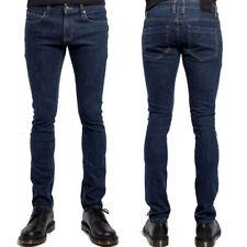 Trash & Vaudeville Rock Metal Stretch Men Skinny Jean Pant Dark Blue Sizes 28-38
