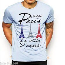 France, T-shirt, Paris, fashion, vacation, Eiffel Tower, Europe, S-2XL, Hoodie