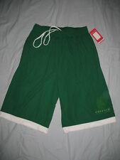 NBA Boston Celtics Basketball Dri Fit Warm Up Shorts Mens Sizes Green Nwt