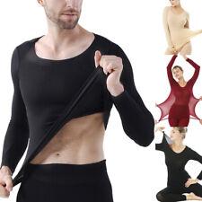 Seamless Elastic Thermal Inner Wear Ultra-thin Winter Body Shape Underwear Set