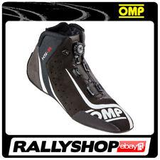 OMP KS-1R Karting Race shoes Black Rally Kart TOP Boots Lightweight Drive Sport