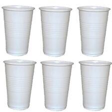100 - 6000 Trinkbecher Ausschankbecher Plastikbecher weiß 0,2 Liter 200ml Becher