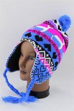 Beanie Snow Ski Acrylic Trapper Ear Flap Slouchy Hat Cap KP-34 D56