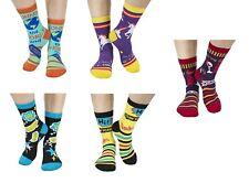 Ganz E7 Women's Fun Crew Ankle High Socks Shoe Size 4-10 - Choose Design