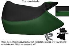 BLACK & DARK GREEN CUSTOM FITS HONDA ST1100 PAN EUROPEAN FRONT SEAT COVER