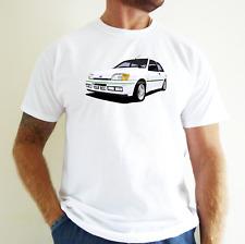 Ford Fiesta RS Turbo Car Arte Camiseta Personalizar It!.