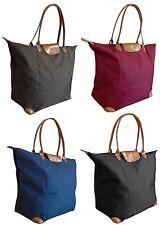Folding Weekend overnight shoulder cabin bag hand luggage 55x40x20cm