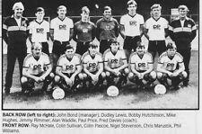 Swansea City Football Equipacion Foto > 1985-86 temporada