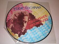 """Eddie Cochran PICTURE DISC 12"""" Cherished Memories"""