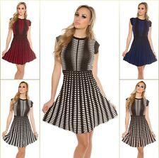 Trendy KouCla Strickkleid  Minikleid Kleid Dress