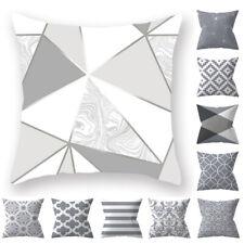 Pillow Case Pillowcase Velvet Nordic Geometric Cushion Cover Home Sofa Office