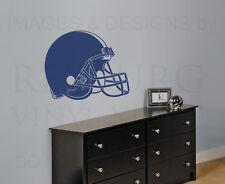 Football Helmet Large Boy Room Nursery Sport Wall Decal Vinyl Sticker Art G58