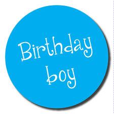 Geburtstags junge - aufkleber - 30mm - großartig für party organizer, schulen,