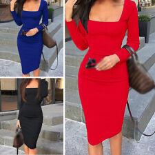 Women's Dress Ladies Party Dress Slim Fit Bodycon Fashion Nightclub Skinny