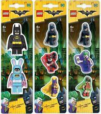 New Lego Batman Movie Eraser set School Rubber Stationery Comics