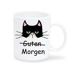 T110 Wandtattoo-Loft Coffee Mug Morning Cat Morning Person Grumpi Office Present