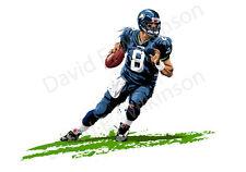 Seattle Seahawks Quarterback Matt Hasselbeck Art Giclee' by David E. Wilkinson
