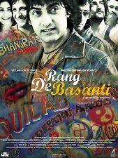 Home wall art print-movie film bollywood poster-rang de basanti-A4, A3, A2, A1
