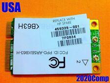 HP DV9000 DV9500 DV9700 WiFi Wireles Card 459339-001