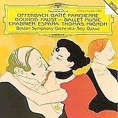 Jacques Offenbach, Seiji Ozawa, , Offenbach: Gaite Parisienne; Gounod: Faust - B