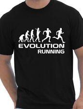 Evolution Of A Running  Runner Gift Jogger  Mens T Shirt  Size S-XXL