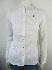G-Star Raw Correctline Damen Classic Shirt Hemd Neu Weiss XS S M