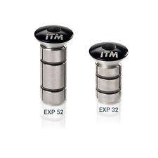 ITM Carbon 1 1/8 inch Expanding Stem Cap