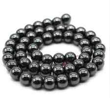 100pcs 4 6 8 10mm ball shamballa silver gold multicolor Black Hematite beads