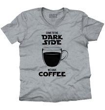 Dark Side Coffee Funny Star Wars Rogue One MovieV-Neck T-Shirt