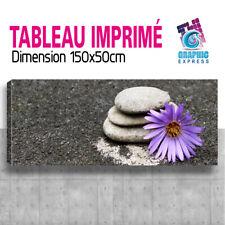 TABLEAU TOILE IMPRIME TABLEAUX TOILES PANORAMIQUE STONES DECORATION STO-01