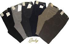 Pantalonì HOLIDAY DONNA Fustagno  da 42 a 56 vita alta Jeans invernale 324804120