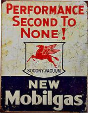 Mobil Pegasus Huile De Moteur Vintage Atelier/garage Panneau 079