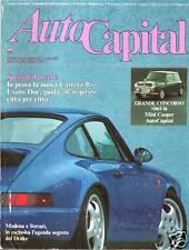 AUTOCAPITAL N. 8 1991 PORSCHE CARRERA RS, MINI COOPER, SPECIALE ENZO FERRARI