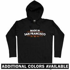 Made in San Francisco V2 Hoodie - CA California 49ers Giants 415 Bay - Men S-3XL