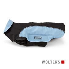 Wolters Hunde Regenjacke Easy Rain schwarz/sky blue, diverse Größen, NEU