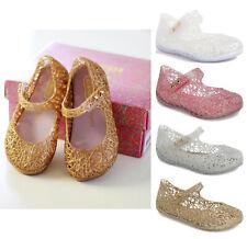 Mini Melissa Campana Zig Zag Baby Girl Glitter Mary Jane Shoes Toddler Sizes New