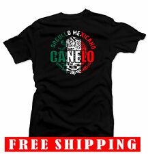 CANELO Men's T-shirt.Mexico flag, Alvarez Boxing Championship.Orgullo Unisex Tee
