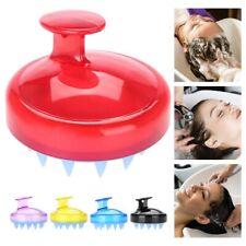 Scalp Shampoo Massage Brush Washing Massager Shower Head Hair Comb Silicone
